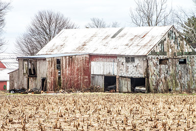 Old Cars, Old Barn