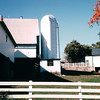 Farm and Silo - Amish Farm and House - Lancaster, PA  10-20-98