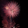 Hundreds of stunning fireworks explode into the night air each July courtesy of the Ambler Kiwanis.
