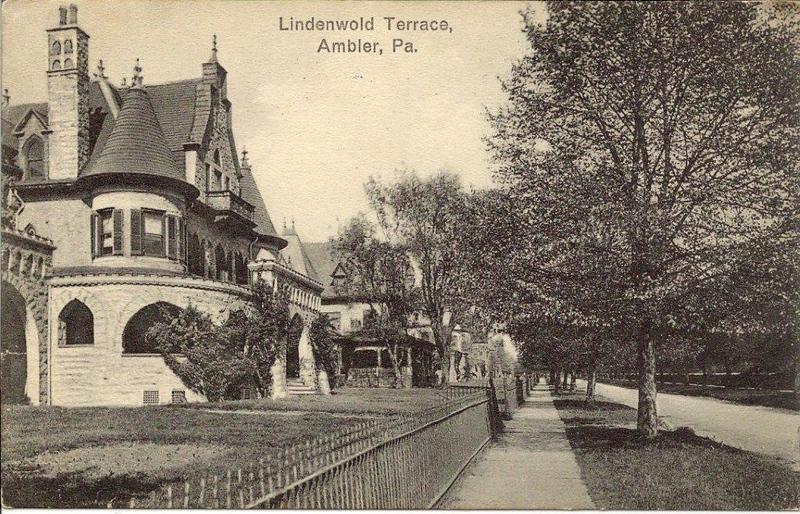 Post card from Lindenwold Terrace 1915
