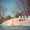 USA Olympic Snowmen