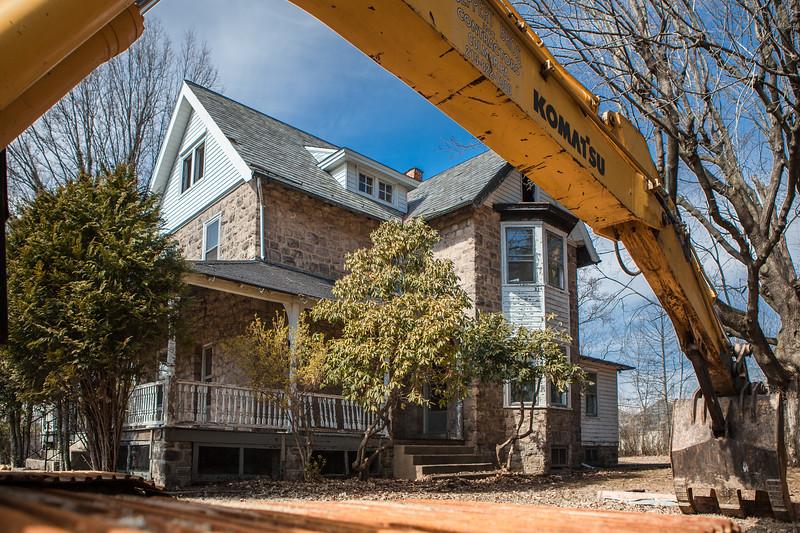 Temple University Ambler Campus, House Demolition