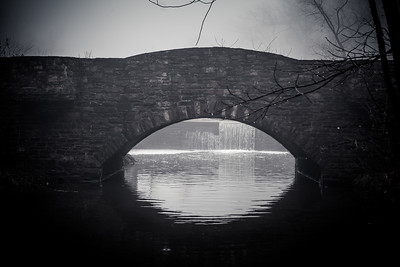 Bridge Over Still Waters 3 at Trewellyn Preserve