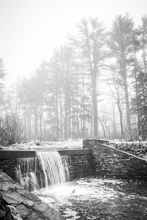 Waterfall at Trewellyn Preserve