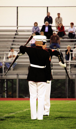 The Marine Corp silent drill team is exceptional.