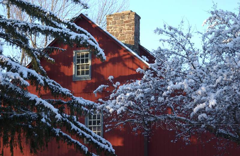 Barn on Pearl Buck property