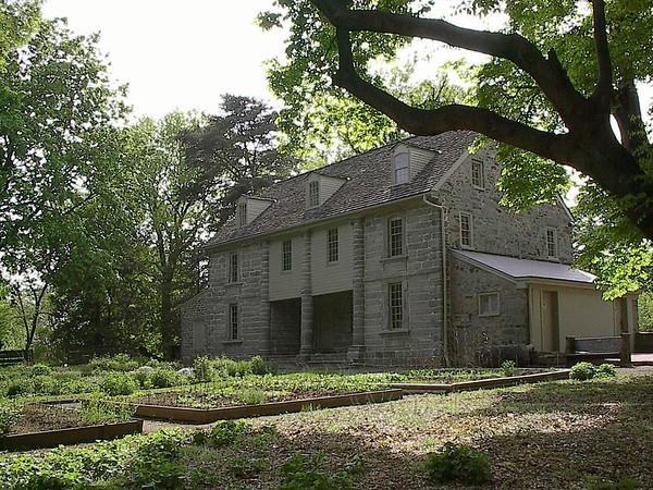 Bartram's House, an interesting building at Bartram's Gardens