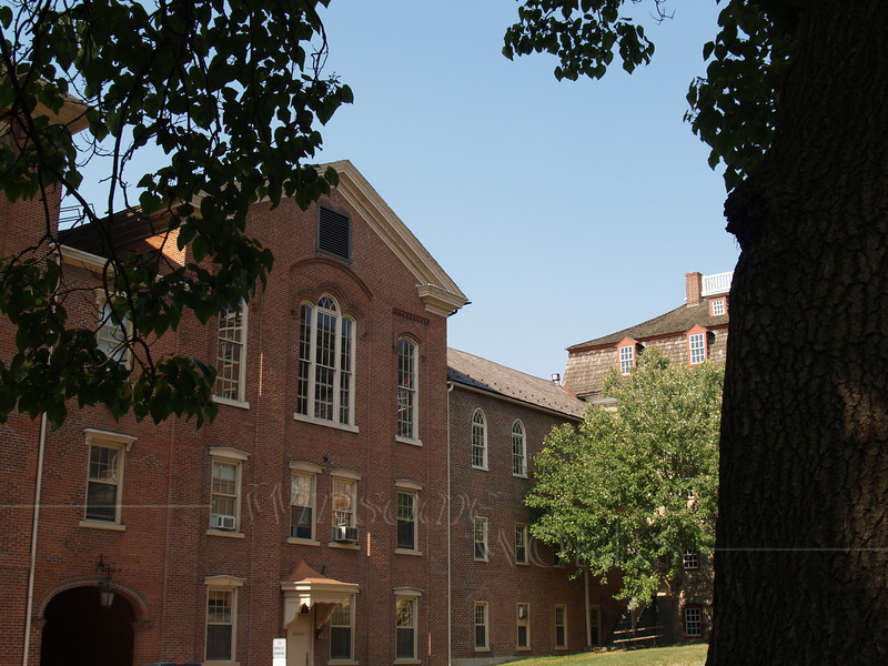 Old Buildings at Moravian College, Bethlehem, PA  (Lehigh County)