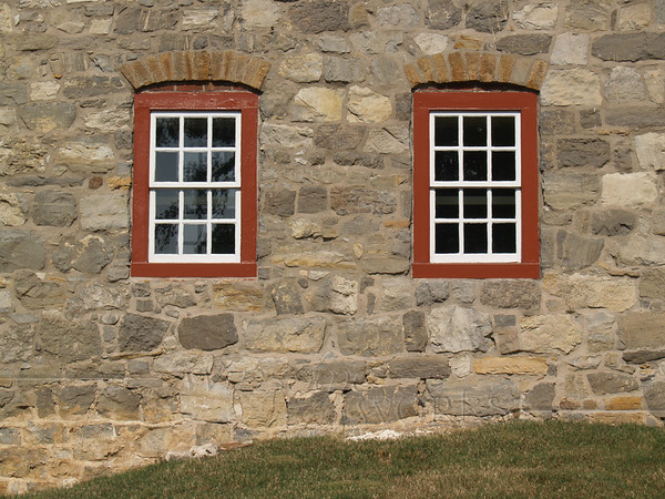 Windows on Music Building, Moravian College, Bethlehem, PA