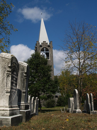Old Church & Cemetery, Allentown Rd.