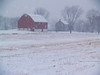 Quakertown farm on snowy day  [Orton Processed]