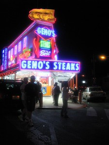 Pennsylvania Travel Photography - Philadelphia - Geno's Steaks