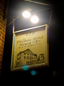 Thomas Bond House where we stayed in Philadelphia