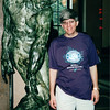 "Randal at Sculpture Called ""Adam"" - Rodin Museum - Philadelphia, PA  9-5-99"