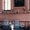 Benjamin in Independence Hall - Philadelphia, PA - 10/15/85