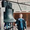Ben at Liberty Bell - Philadelphia, PA  3-30-92