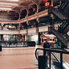 Ben Looks Around 'The Bourse' Shopping Mall - Philadelphia, PA  3-30-92<br /> Located on 5th Street between Market and Chestnut, it's a restored Victorian building with 50 shops.