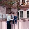 Randal and Benjamin in Franklin Court - Philadelphia, PA - 10/15/85