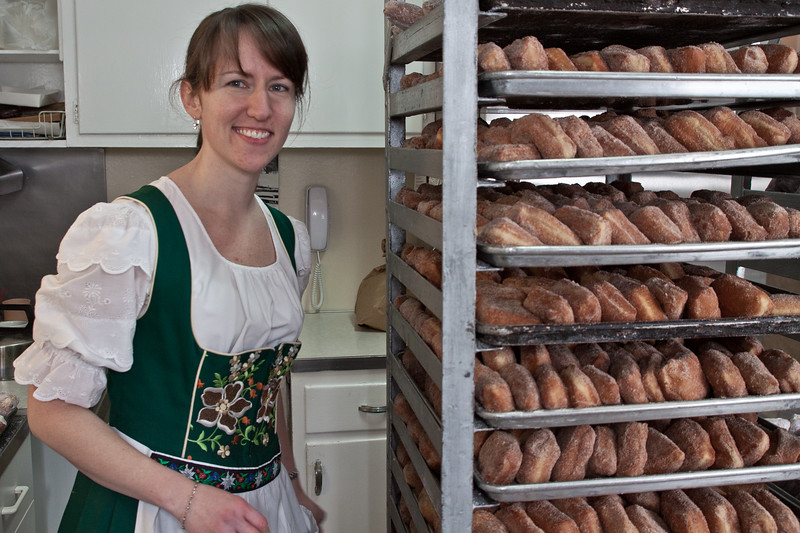 Fastnacht Day at Haegele's Bakery