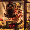 Strawbridge's old Dicken's Village lives on inside of Macy's in Philadelphia at Christmastime.