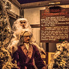 Strawbridge's old Dicken's Village lives on inside of Macy's in Philadelphia at Christmastime.
