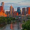 Downtown Philadelphia @ dusk