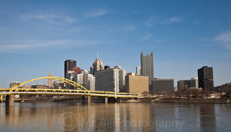 Downtown Pittsburgh March 2011
