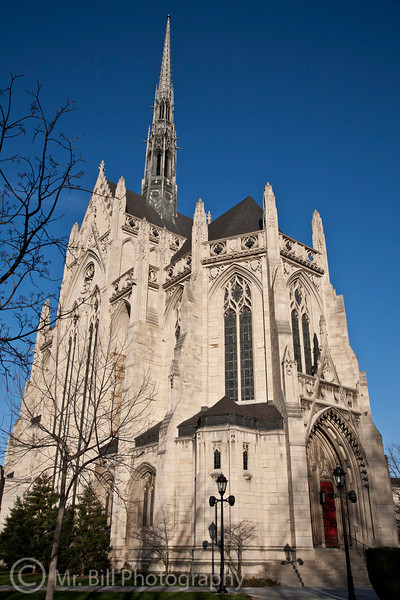 Heinz Memorial Chapel @ Univ. of Pittsburgh