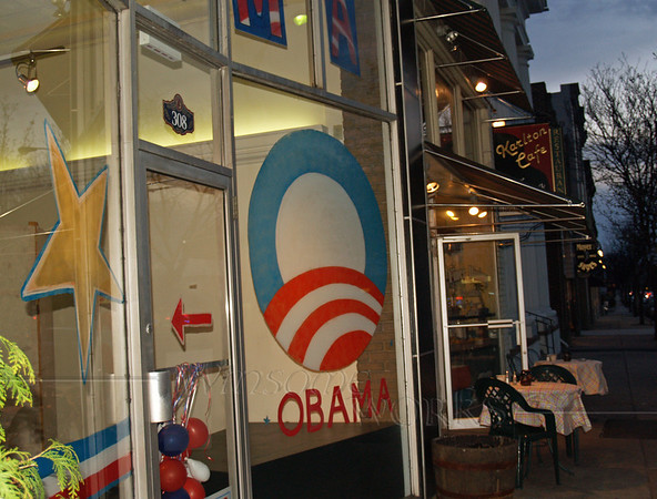 The Quakertown, PA Obama Office, 2008