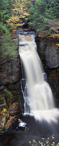 Bushkill Falls. Panoramic. Image size: 296.9 M, 6478 x 16022 at 240 p/i res.