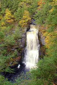 Bushkill Falls, main falls. The Niagara of Pennsylvania
