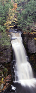 Bushkill Falls. Pano 2 The Niagara of Pennsylvania