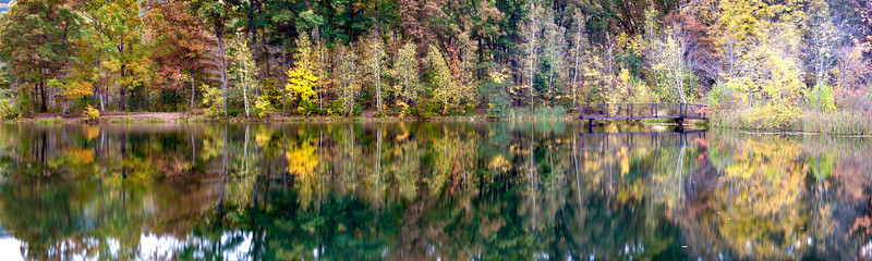 Hickory Run State Park. Panoramic- Size: 215.7 M, 11216 x 3361, 240 p/i