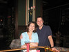 Amy and John at the CAVU  Club at the Crowne Plaza/Pensacola Grand Hotel