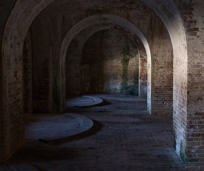 Fort Pickens guarded the entrance to Pensacola Bay