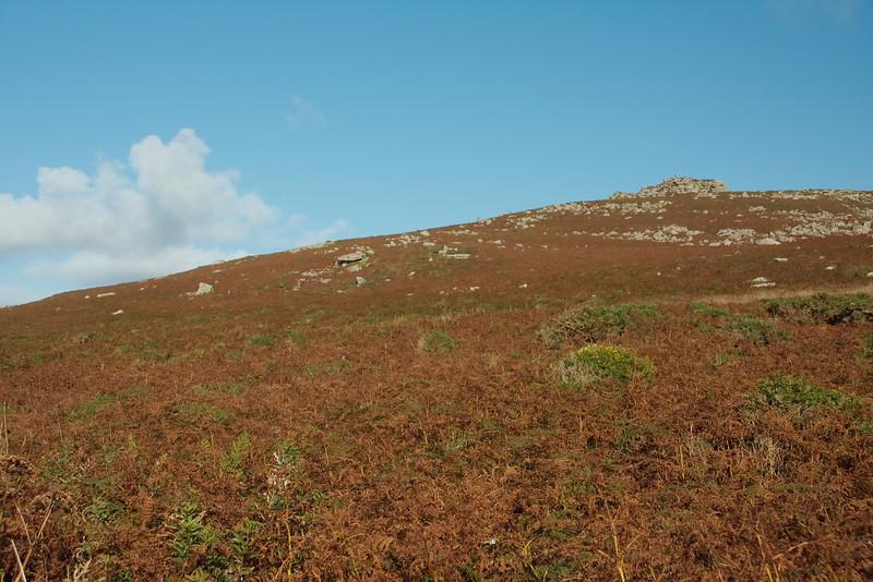 A stark landscape near Zennor