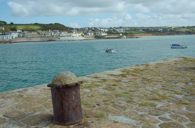 Shuttling back and forth to Marazion from the Mount