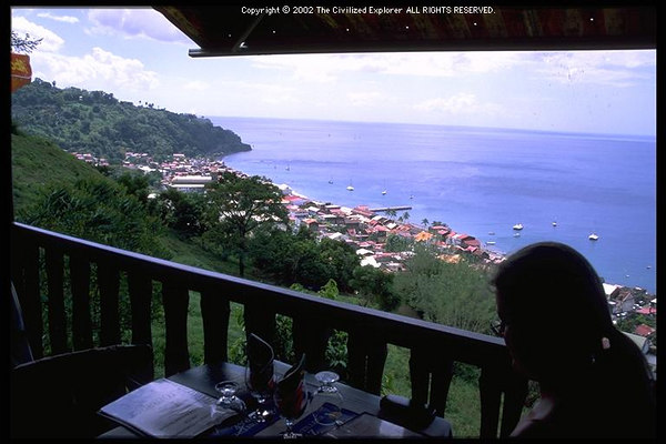 View of St  Pierre, Martinique