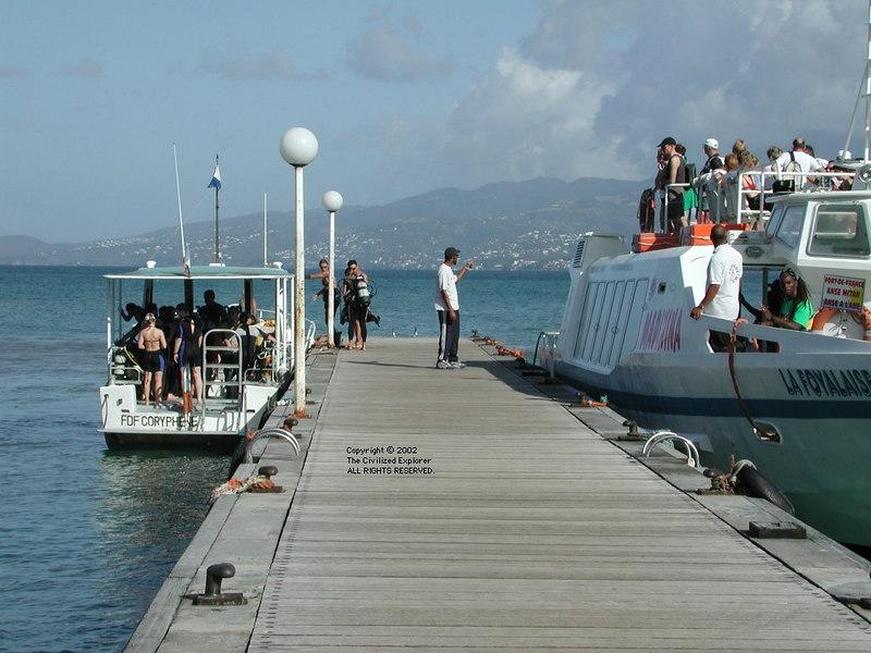 Anse Mitan ferry, Martinique