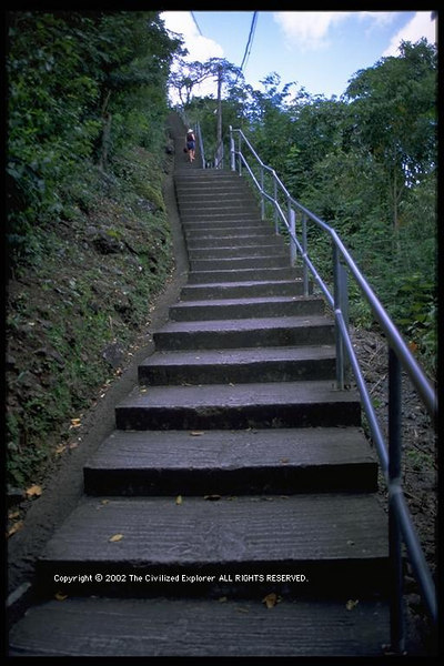 The 139 steps, AnseNoire, Martinique