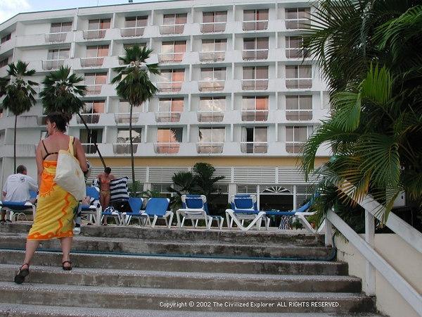 Hotel Meridien, Trois Ilets, Martinique