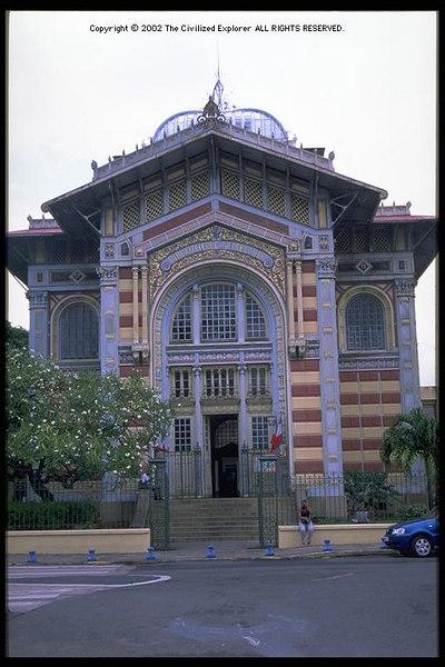 Bibliotheque Schoelcher, Martinique