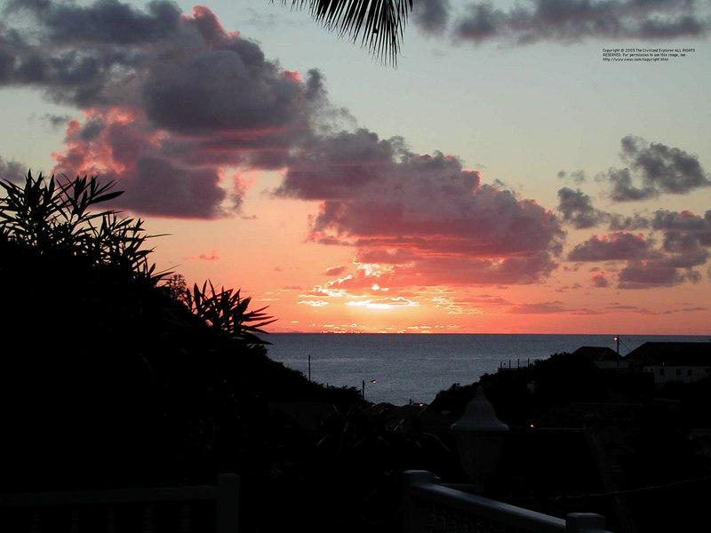 Sunset at Gustavia III