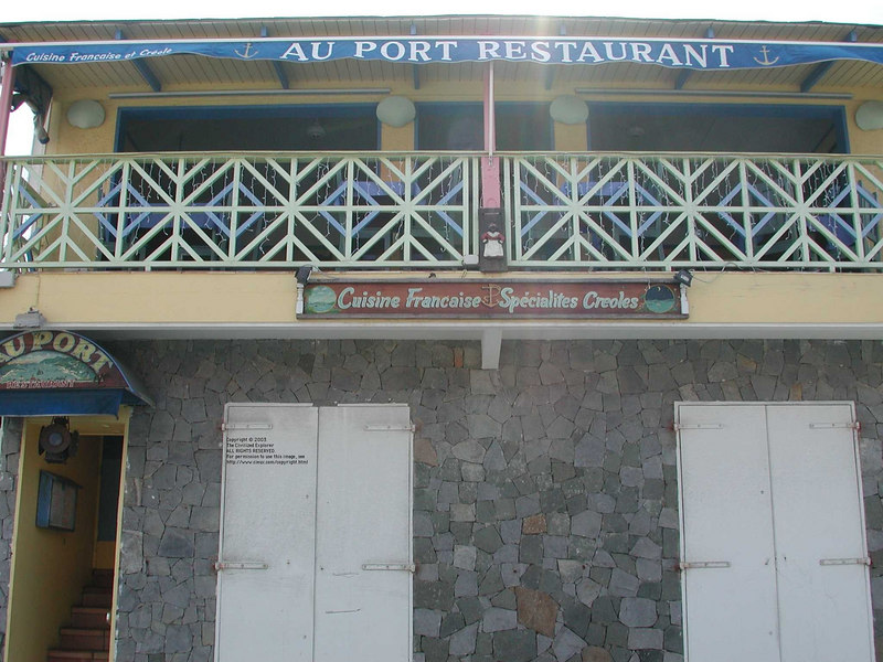 Au Port, Gustavia