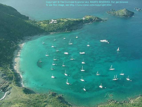 Anse du Grand Colombier, St  Barth