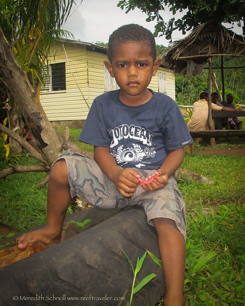 A Fijian Boy