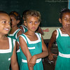 Schoolgirls at Vuanicau Primary School, Togo Village, Qamea
