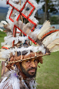 Kaula tribe from Morobe at the Mt Hagen Sing-Sing