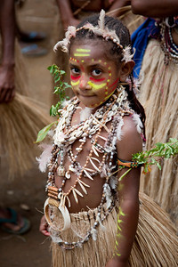 Young girl at the Paiya Cultural Show