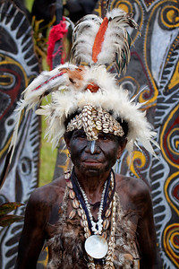 Sepik River woman at Crocodile Festival